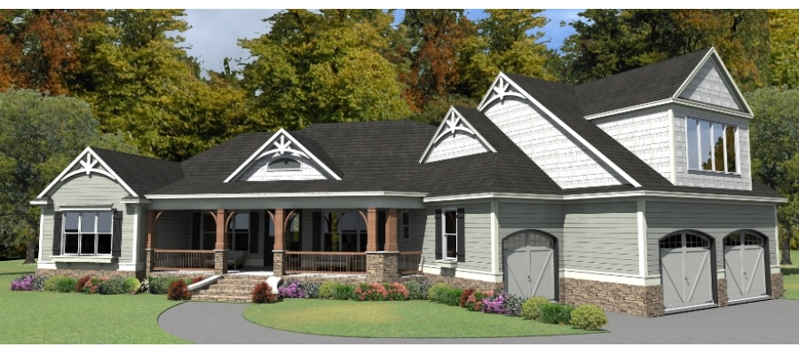 Hudson Home Design Plan. 39