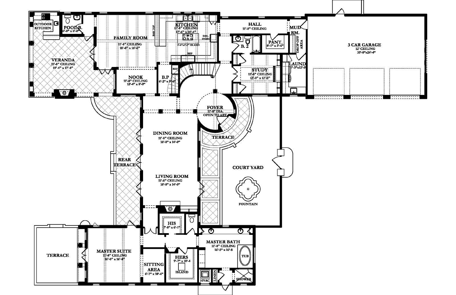 Icf Floor Plans Family Home Plans