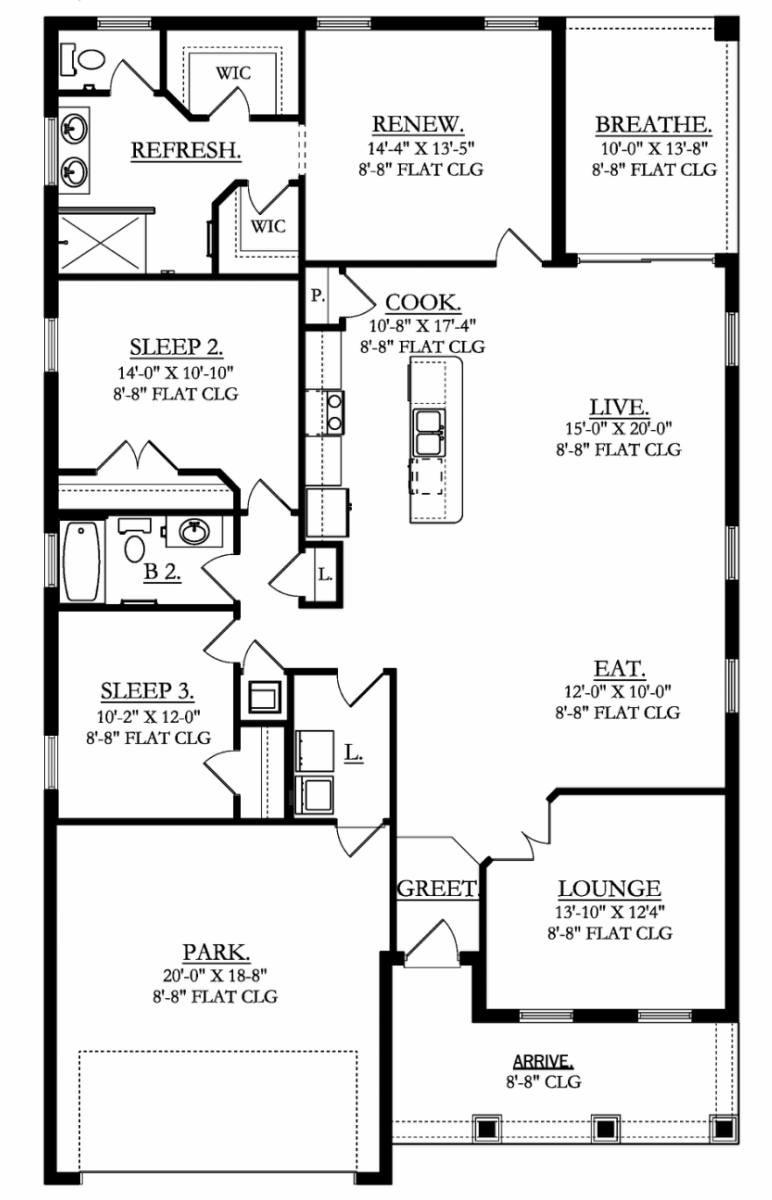 One bedroom cottage layouts home design - One bedroom cottage plans ...