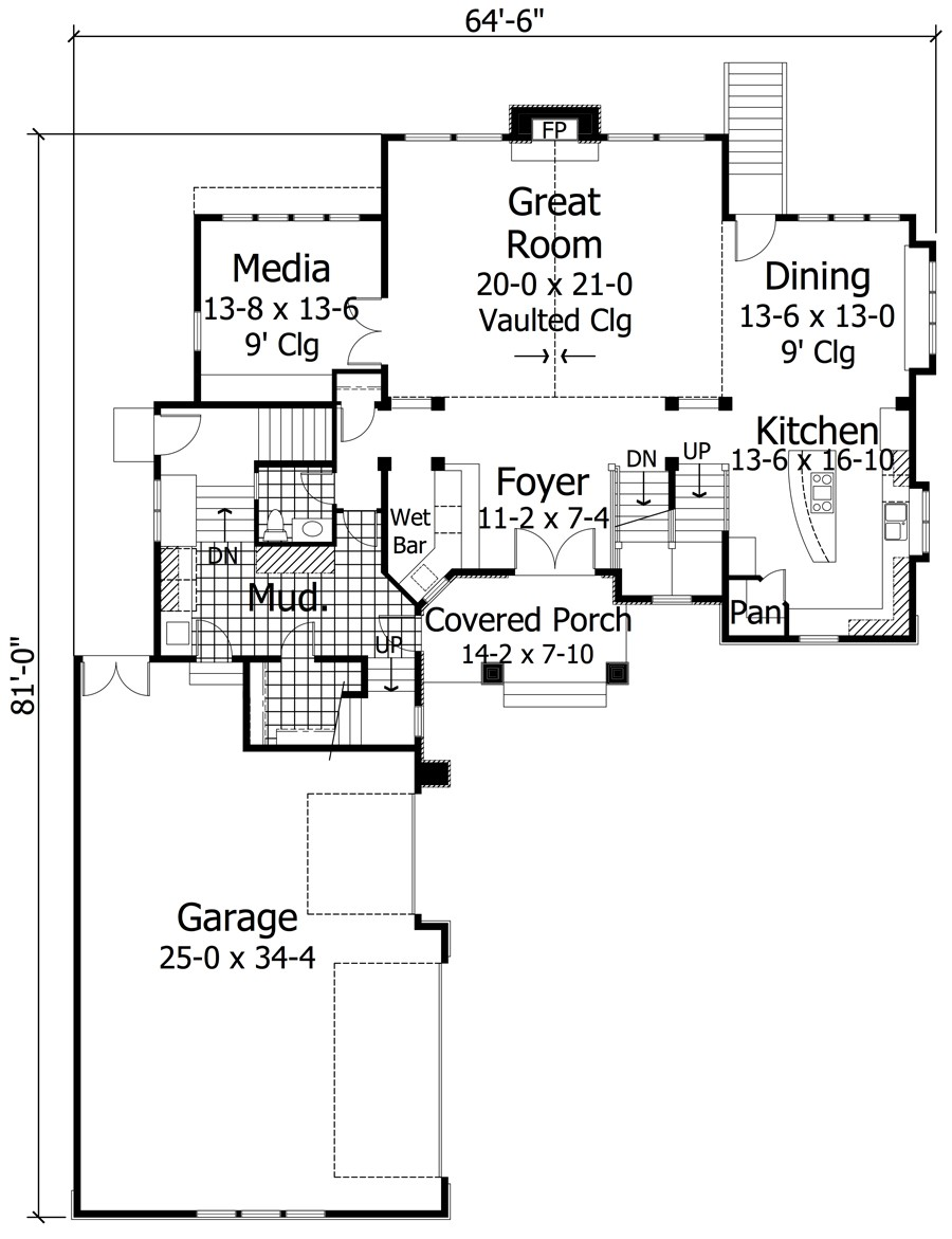 Ga plans detached garage bonus room duplex home garage for Detached garage with bonus room plans